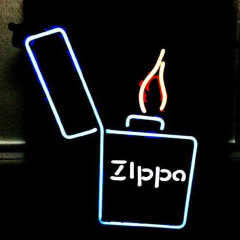 Professional  Zippo Lighter Beer Bar Neon Sign