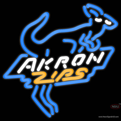 Akron Zips Alternate  Pres Logo NCAA Neon Sign  x