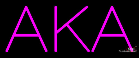 Alpha Kappa Alpha Neon Sign