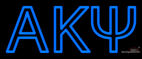 Alpha Kappa Psi Neon Sign