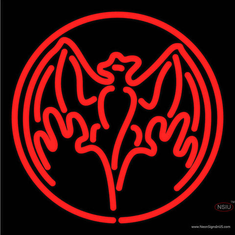 Bacardi Bat Logo Neon Rum Sign