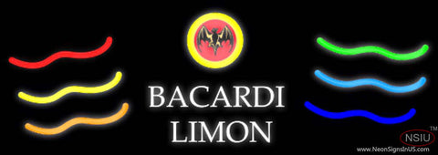 BACARDI Limon Multi Colored Neon Rum Sign