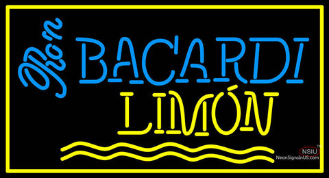 Bacardi Limon Neon Rum Sign