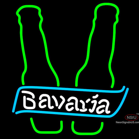 Bavarian Bottle Neon Beer Sign