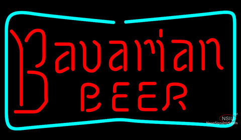 Bavarian Border Neon Beer Sign