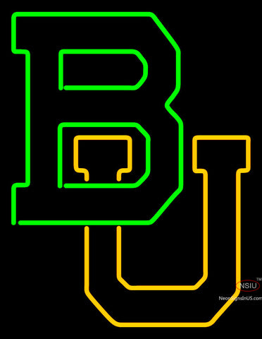 Baylor Bears Team Neon Sign