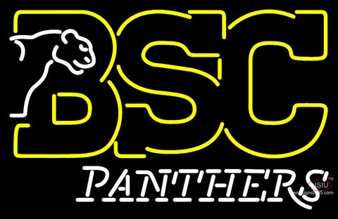 Birmingham Southern Panthers Alternate  Pres Logo NCAA Neon Sign