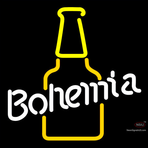Bohemia Bottle Neon Sign x