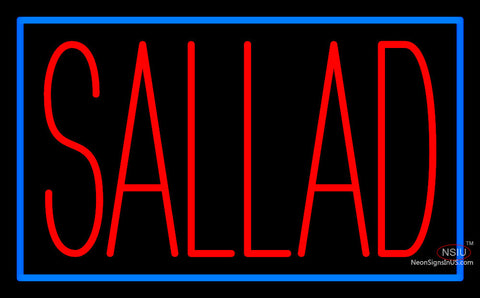 Border With Sallad Neon Sign
