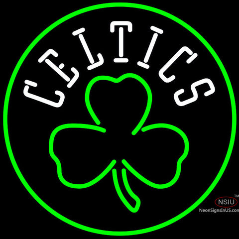 Boston Celtics Alternate Logo Neon Sign x
