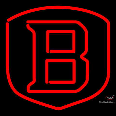 Bradley Braves Team Neon Sign