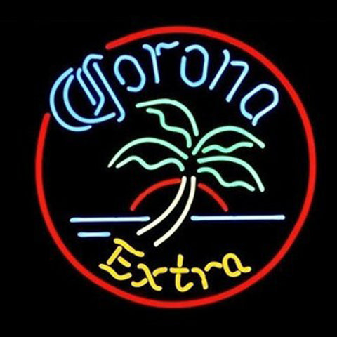 Brand New Corona Extra Real Glass Tube Neon Pub Light Sign
