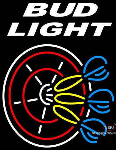 Bud  Light Dart Neon Sign
