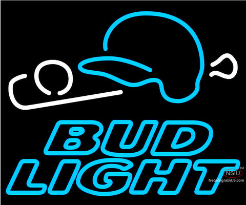 Bud Light Baseball Neon Beer Sign