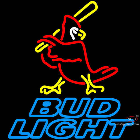 Bud Light Cardinals Neon Sign