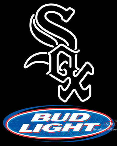 Bud Light Chicago White Sox Neon Beer Sign