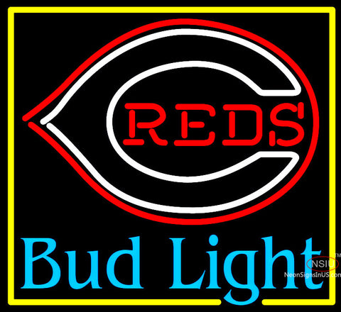 Bud Light Cincinnati Reds Neon Sign