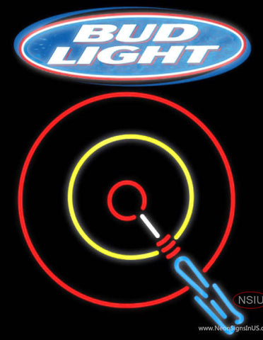 Bud Light Darts Neon Sign