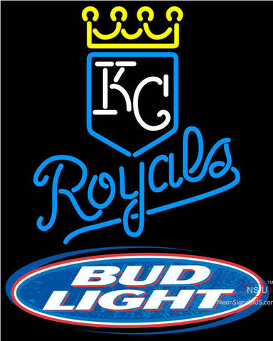 Bud Light Kansas City Royals MLB Neon Beer Signs