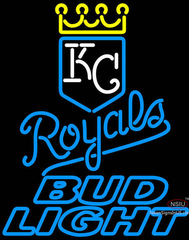 Bud Light Kansas City Royals MLB Neon Signs