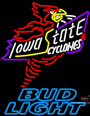 Bud Light Killer Iowa State Cyclones Neon Sign Sale Price Look