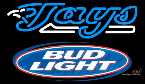 Bud Light Logo Toronto Blue Jays MLB Neon Sign