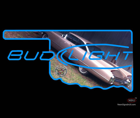 Bud Light Oklahoma callidac Car Neon Sign