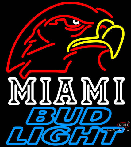 Bud Light Miami University Fall Session Neon Sign