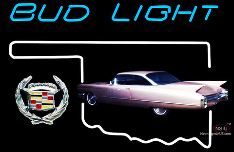 Budlight Oklahoma Calidac Car Neon Sign