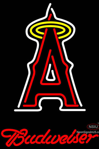 Budweiser Los Angeles Angels Of Anaheim MLB Neon Sign