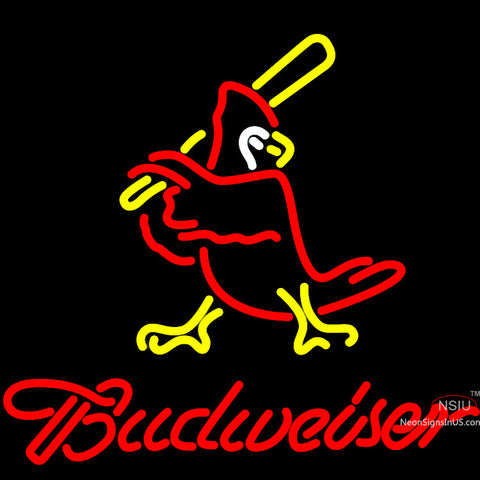 Budweiser Cardinals Neon Sign x