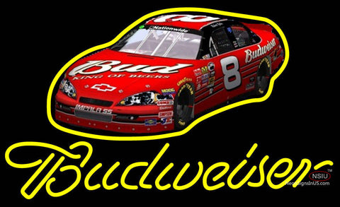 Budweiser King Of Beers NASCAR Neon Sign