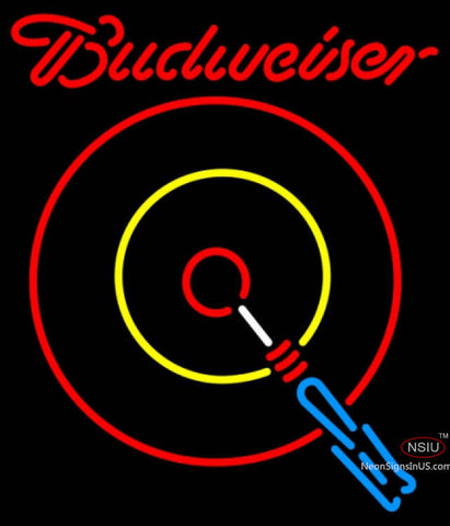 Budweiser Neon Darts Neon Sign