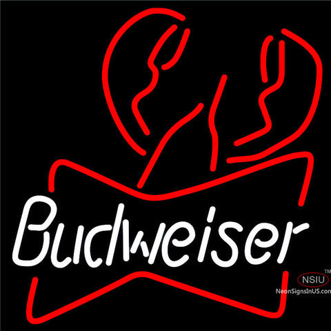 Budweiser Lobster Neon Beer Sign x