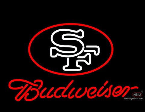 Budweiser San Francisco Emblem Neon Beer Sign