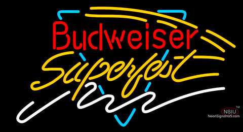 Budweiser Super Fest Neon Beer Sign