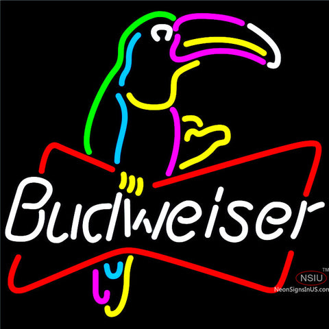 Budweiser Toucan Neon Beer Sign x