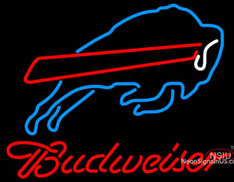 Budweiser Buffalo Bills NFL Neon Sign