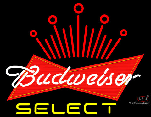 Budweiser Select Logo Neon Sign