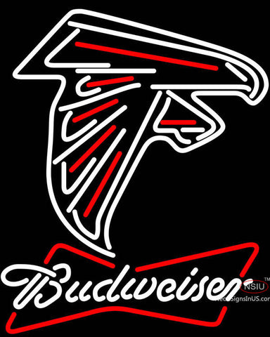 Budweiser Neon Atlanta Falcons NFL Neon Sign