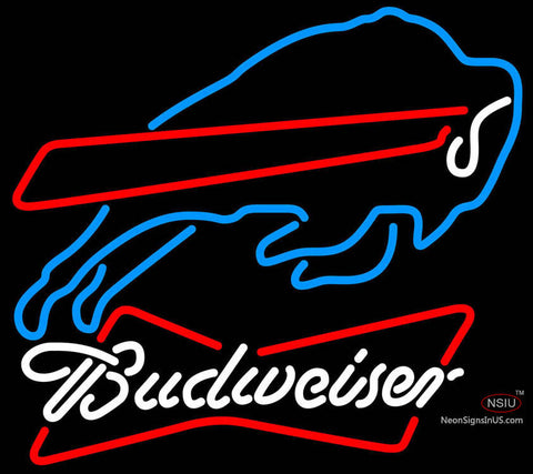 Budweiser Neon Buffalo Bills NFL Neon Sign