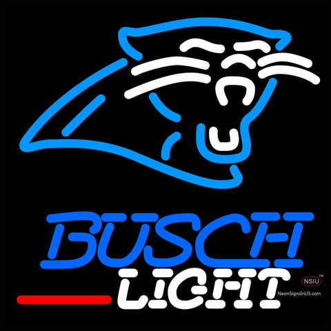Busch Light Carolina Panthers NFL Neon Sign   x