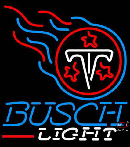 Busch Light Tennessee Titans NFL Neon Sign  7