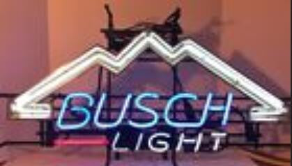 Busch Beer  Neon Beer Sign