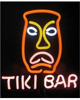 Business Signs Tiki Bar Neon Sculpture