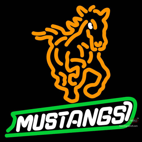Cal Poly Mustangs Alternate  Pres Logo NCAA Neon Sign x