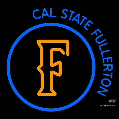 Cal State Fullerton Titans Alternate  Pres NCAA Neon Sign  x