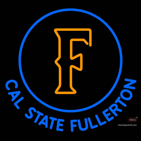 Cal State Fullerton Titans Alternate  Pres Logo NCAA Neon Sign