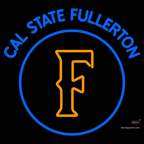 Cal State Fullerton Titans Primary   Logo NCAA Neon Sign