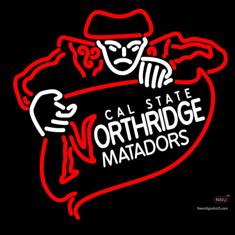 Cal State Northridge Matadors Primary   Logo NCAA Neon Sign